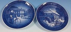 2016 Royal Copenhagen RC Christmas Plate  Buy One, Get 1976 RC  FREE