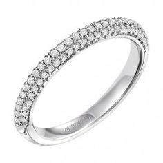 Anna ArtCarved Diamond Wedding Ring