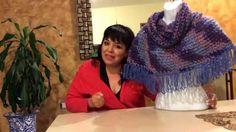 Capita torera con capucha  tejido con dedos  - tejiendo con Laura Cepeda