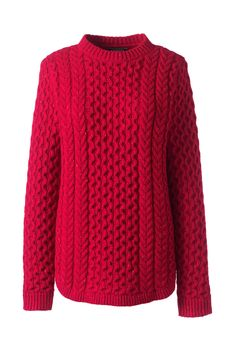 9750625a2c Women s Cozy Donegal Tunic Cable Sweater