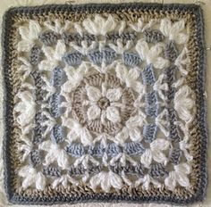 Catalina Afghan Square - free pattern by Julie Yeager