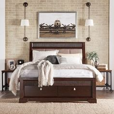 Shop for Marquette Tufted Upholstered Headboard Storage Platform Bed by TRIBECCA HOME. Get free shipping at Overstock.com - Your Online Furniture Outlet Store! Get 5% in rewards with Club O!