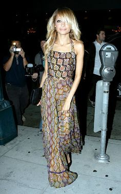 SHOP this vintage Thea Porter gown once owned by Nicole Richie at If Pockets Talked