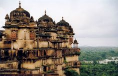 Orchha Palace, Tikamgarh district of Madhya Pradesh state, India