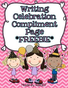 Writing Workshop Compliment Page Kids Writing, Teaching Writing, Writing Ideas, Teaching Ideas, Writing Classes, Writing Skills, Small Moment Writing, Kindergarten Writing Activities, Literacy