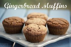 Southern In-Law: Recipe: Healthy Gingerbread Muffins