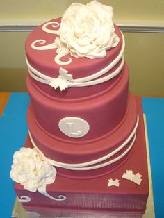 Other / Mixed Shaped Wedding Cakes