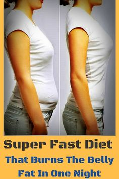Wooow.... Super Fast Diet That Burns The Belly Fat In One Day