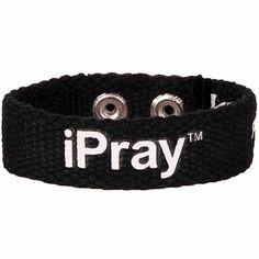 iPray Faith Gear Canvas Bracelet