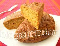 Gâteau aux carottes sans gluten et zeste de citron - Blog cuisine bio - Recettes bio Cuisine bio sans gluten