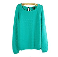 Design knit long-sleeved sweater ER9510SZG