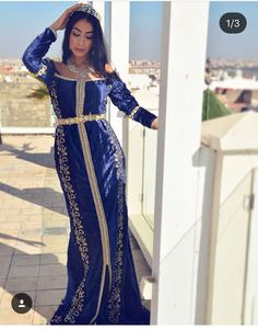 Kaftan Designs, Moroccan Caftan, Caftan Dress, Prom Dresses, Formal Dresses, Modest Fashion, Traditional Outfits, Gowns, Fashion Design