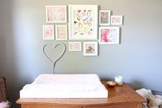 Pink and Patterned Nursery - by Eclectic Darling - www.eclecticdarling.com