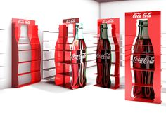 Retail Stand design concepts for Coca Cola Turkey
