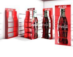 Retail Stand design concepts for Coca Cola Turkey