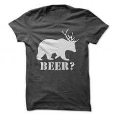 Beer T Shirts, Hoodies. Check price ==► https://www.sunfrog.com/Hunting/Beer-DarkGrey-21746385-Guys.html?41382 $19