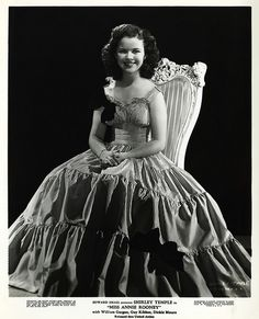 Shirley Temple, just as adorable as she grew older.