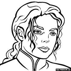 michael jackson coloring page michael jackson coloring
