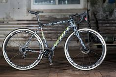 2015 Scott Sports disc brake cyclocross bike with thru axles