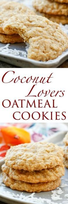 Soft, chewy, oatmeal cookies that are filled with coconut make a great treat for any occasion.If you have a coconut lover in your life, these Coconut Oatmeal Cookies need to be made sooner than later.You...