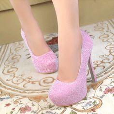 Ultra de salto alto sapatos único princesa plataforma sexy sapatos de salto alto sapatos de salto fino em Bombas das mulheres de Sapatos no AliExpress.com | Alibaba Group