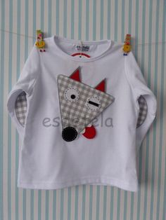 lobo1 Boys Clothes Style, Diy Clothes, Clothes For Women, Cute Baby Boy Outfits, Cute Outfits For Kids, Sewing For Kids, Baby Sewing, Make Your Own Shirt, Kids Tops