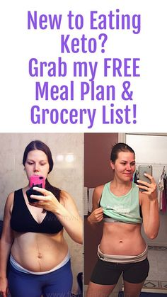 New to eating keto? I can help =) Come on over to the blog so you can grab my free meal plan and grocery list...plus tons of posts about eating high fat low carb! Repin & lets get started! #ketodiet #highfatlowcarb #ketogenic