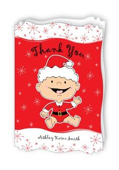 Christmas Baby Shower Thank You Cards...Go To: Http://