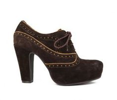 Miz Mooz Lance Platform Oxfords - FINAL SALE lance brown suede platform oxfords