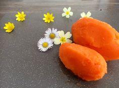 Carrot, Lemon, and Ginger Sorbet