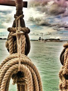 L'île Tudy vue de la Belle Poule au port de Loctudy - 27 juillet 2013