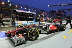 McLaren F1 Singapore 2011
