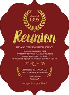 36 Best Reunion Invitations Images Reunions Family Reunion