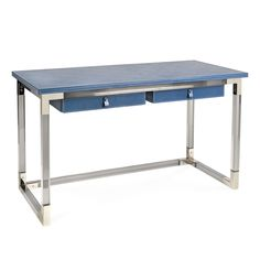 """Jacques - Jacques Desk The generous scale—54.5"""" x 24.5""""—and durable materials make this desk as functional as it is fabulous."""