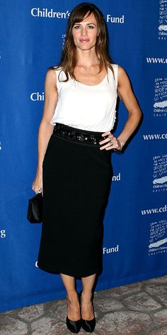 Look of the Day: December 23, 2009 - Jennifer Garner : InStyle.com