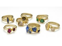 Stacking rings:  Petra Class