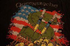 Vintage Queensryche Building Empire PusHead T-Shirt