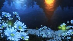 Image result for gif of fireflies in moonlight