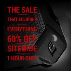 Let's try that again! You guys are amazing! 60% off site wide. Extended until 4 PM PT today US Only! Code = Eclipse