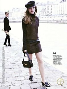 Le Beatnik, C'est Chic / October 2012 in Glamour UK
