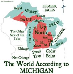 Pure Michigan,i find this to be funny,although i see ohio as being watch your speed.they will nail you for doing 5 over,especially if you're from michigan. State Of Michigan, Detroit Michigan, Northern Michigan, Michigan Travel, Michigan Quotes, Michigan Accent, Muskegon Michigan, Lake Michigan, Jackson Michigan
