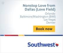 Southwest Airlines Banner ad