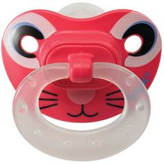 Cute animal face pacifier by Nuk