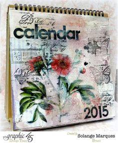 Calendário 2015 da Graphic