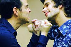 Andrew Scott and Ben Wishaw