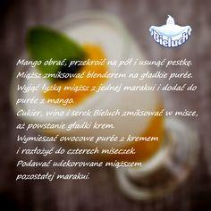Krem z mango i marakują - przepis