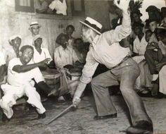 Baile de Bomba en Cataño, Puerto Rico, año 1930.