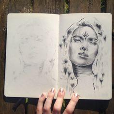 Portrait, Tattoos, Illustration, Art, Craft Art, Headshot Photography, Men Portrait, Tattoo, Kunst