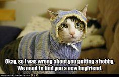 And Permanently Misplace Those Knitting Needles