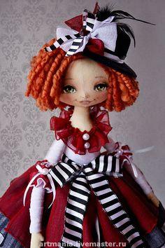 Коллекционные куклы ручной работы. Ярмарка Мастеров - ручная работа Коломбина. Handmade.